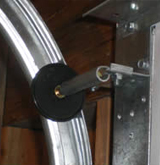 Garage door broken spring repair, replacement services